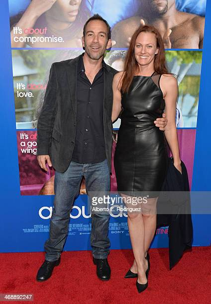 Actor Bryan Callen and wife Amanda HumphreyAmanda Humphrey arrive at The Pan African Film Arts Festival Premiere of Screen Gems' About Last Night at...