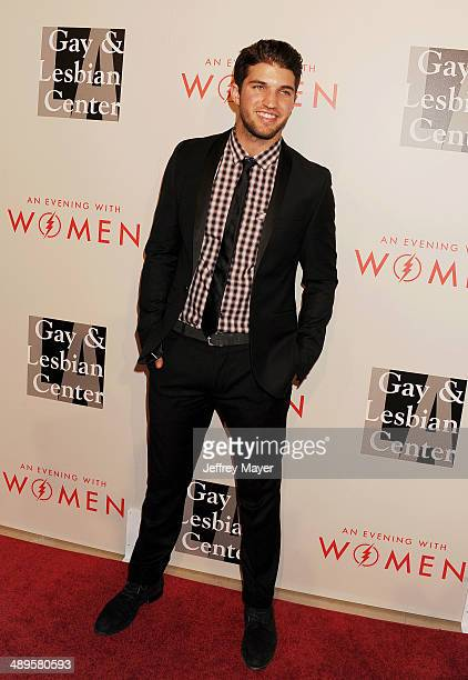 Actor Bryan Craig arrives at the 2014 An Evening With Women Benefiting LA Gay Lesbian Center at the Beverly Hilton Hotel on May 10 2014 in Beverly...