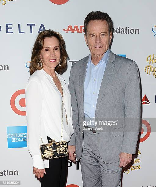 Actor Bryan Cranston and wife Robin Dearden attend MPTF's 95th anniversary celebration 'Hollywood's Night Under The Stars' on October 1 2016 in Los...