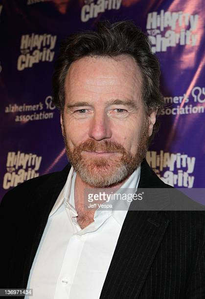 """Actor Bryan Cranston arrives at """"Hilarity For Charity"""" To Benefit The Alzheimer's Association at Vibiana on January 13, 2012 in Los Angeles,..."""