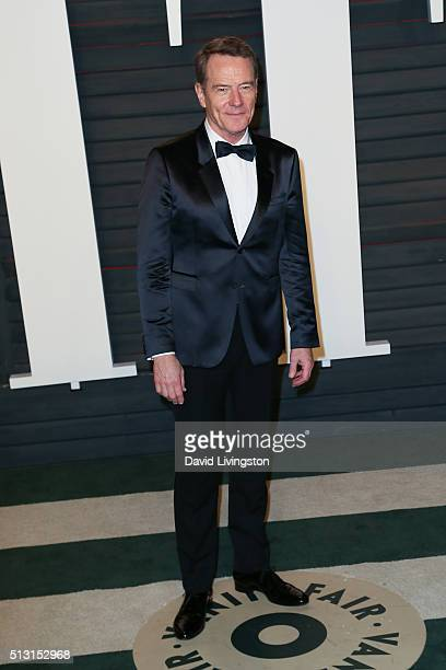 Actor Bryan Cranston arrives at the 2016 Vanity Fair Oscar Party Hosted by Graydon Carter at the Wallis Annenberg Center for the Performing Arts on...