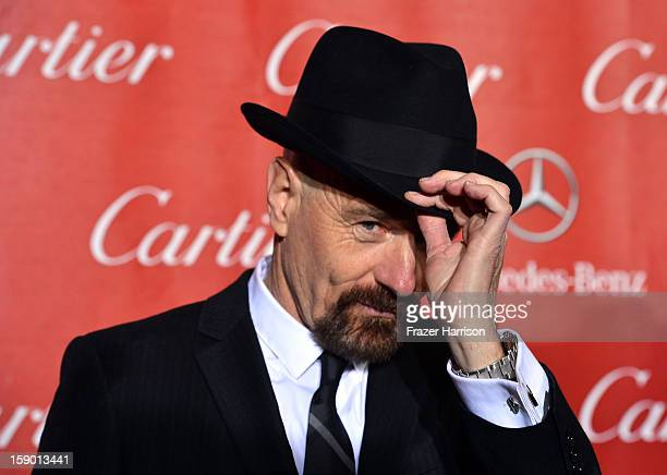 Actor Bryan Cranston arrives at the 24th annual Palm Springs International Film Festival Awards Gala at the Palm Springs Convention Center on January...
