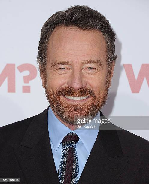 Actor Bryan Cranston arrives at the Los Angeles Premiere Why Him at Regency Bruin Theater on December 17 2016 in Westwood California