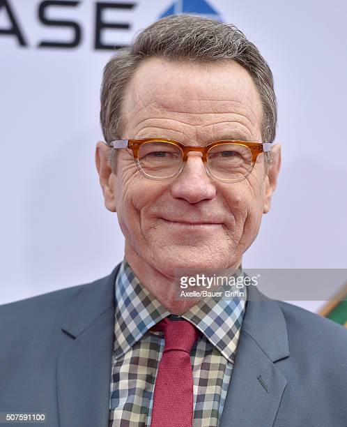 Actor Bryan Cranston arrives at the premiere of 20th Century Fox's 'Kung Fu Panda 3' at TCL Chinese Theatre on January 16 2016 in Hollywood California