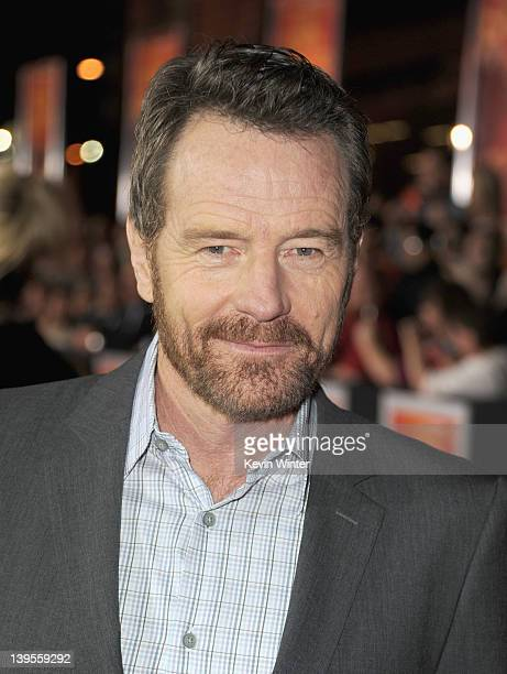 """Actor Bryan Cranston arrives at the premiere of Walt Disney Pictures' """"John Carter"""" held at Regal Cinemas L.A. Live on February 22, 2012 in Los..."""