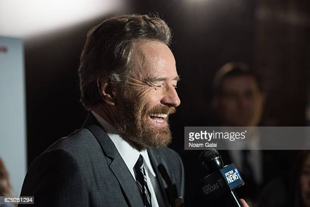 Actor Bryan Cranston attends a special screening of Why Him at iPic Theater on December 11 2016 in New York City