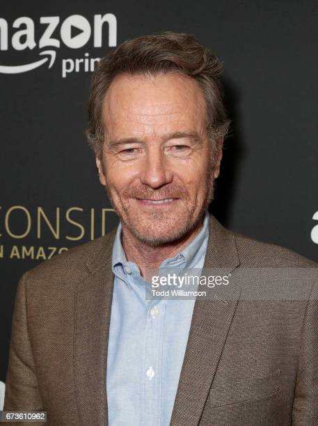 Actor Bryan Cranston attends Amazon original series 'Sneaky Pete' Emmy FYC Screening and panel on April 26 2017 in Hollywood California