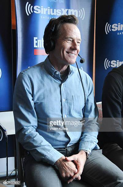 Actor Bryan Cranston attends SiriusXM's Entertainment Weekly Radio Channel Broadcasts From ComicCon 2015 at Hard Rock Hotel San Diego on July 9 2015...