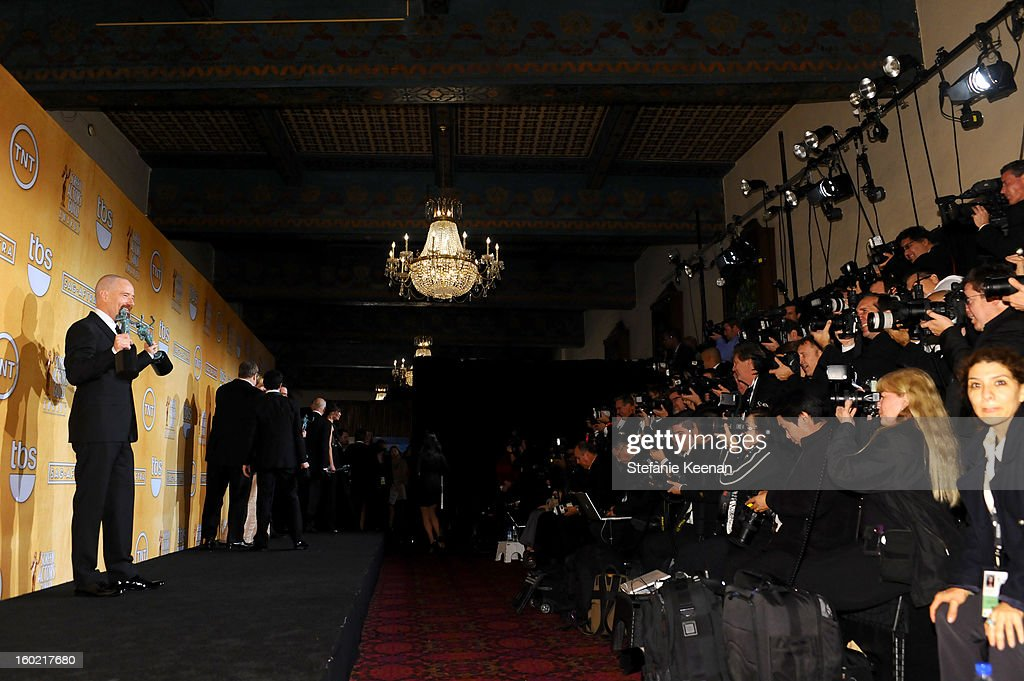 Actor Bryan Cranston attends the 19th Annual Screen Actors Guild Awards at The Shrine Auditorium on January 27, 2013 in Los Angeles, California. (Photo by Stefanie Keenan/WireImage) 23116_025_2178.jpg