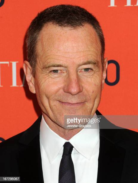 Actor Bryan Cranston attends the 2013 Time 100 Gala at Frederick P Rose Hall Jazz at Lincoln Center on April 23 2013 in New York City