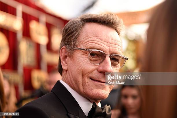Actor Bryan Cranston attends The 23rd Annual Screen Actors Guild Awards at The Shrine Auditorium on January 29 2017 in Los Angeles California...