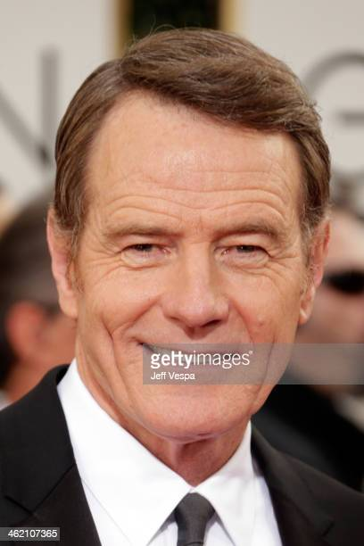 Actor Bryan Cranston attends the 71st Annual Golden Globe Awards held at The Beverly Hilton Hotel on January 12 2014 in Beverly Hills California