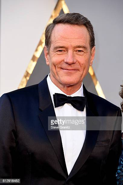 Actor Bryan Cranston attends the 88th Annual Academy Awards at Hollywood Highland Center on February 28 2016 in Hollywood California