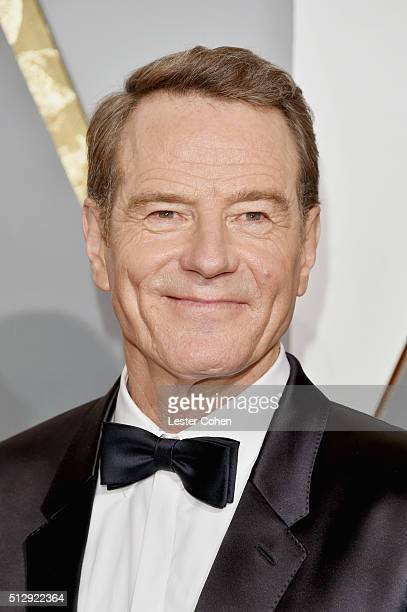 Actor Bryan Cranston attends the 88th Annual Academy Awards at Hollywood & Highland Center on February 28, 2016 in Hollywood, California.