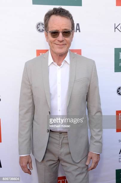 Actor Bryan Cranston attends the Festival of Arts Celebrity Benefit Event on August 26 2017 in Laguna Beach California