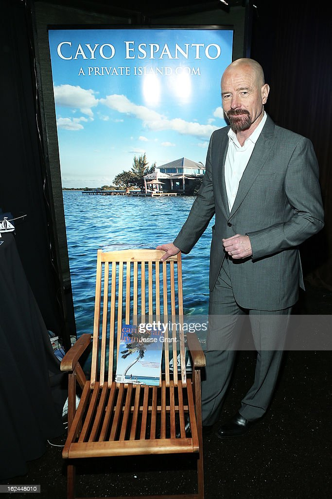Actor Bryan Cranston attends the On3 Official Presenter Gift Lounge during the 2013 Film Independent Spirit Awards at Santa Monica Beach on February 23, 2013 in Santa Monica, California.
