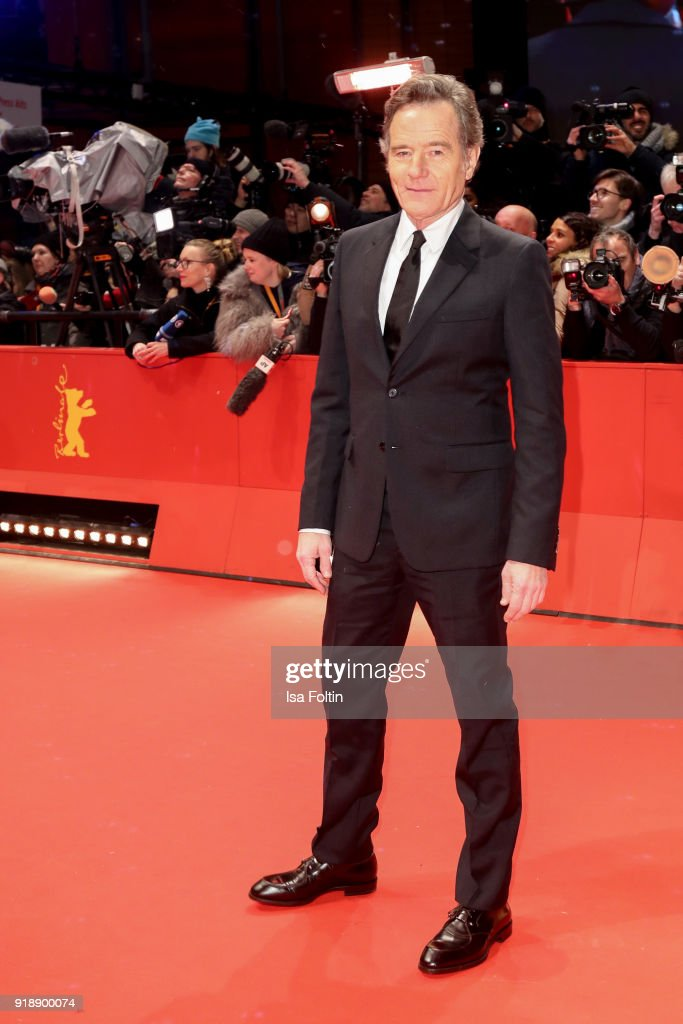 US actor Bryan Cranston attends the Opening Ceremony & 'Isle of Dogs' premiere during the 68th Berlinale International Film Festival Berlin at Berlinale Palace on February 15, 2018 in Berlin, Germany.