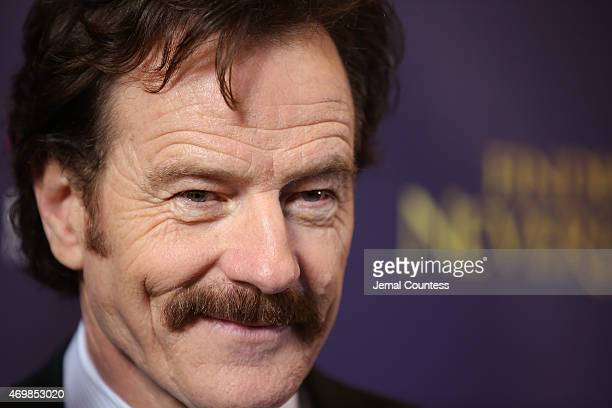 Actor Bryan Cranston attends the opening night of 'Finding Neverland' at LuntFontanne Theatre on April 15 2015 in New York City