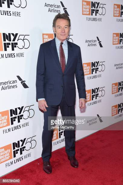 Actor Bryan Cranston attends the opening night premiere of 'Last Flag Flying' during the 55th New York Film Festival at Alice Tully Hall Lincoln...