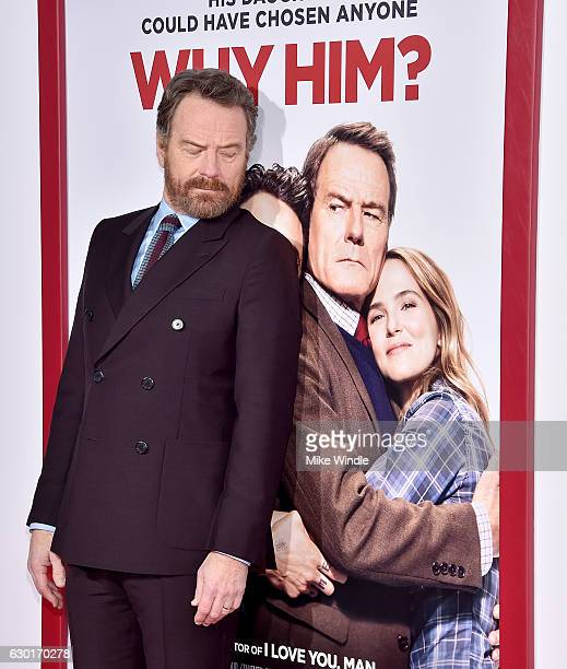 Actor Bryan Cranston attends the premiere of 20th Century Fox's Why Him at Regency Bruin Theater on December 17 2016 in Westwood California
