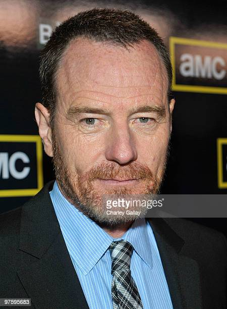 Actor Bryan Cranston attends the third season premiere of AMC and Sony Pictures Television's 'Breaking Bad' at the ArcLight Hollywood Cinemas on...