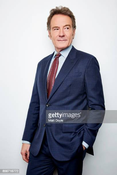 Actor Bryan Cranston from the film 'Last Flag Flying' poses for a portrait at the 55th New York Film Festival on September 28 2017