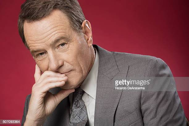 Actor Bryan Cranston is photographed for Los Angeles Times on January 11 2016 in Beverly Hills California Published Image Credit Must Read Ricardo...
