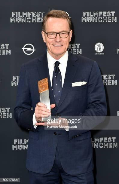 Actor Bryan Cranston received the Cine Merit Award 2017 during the Munich Film Festival 2017 at Gasteig on June 23 2017 in Munich Germany