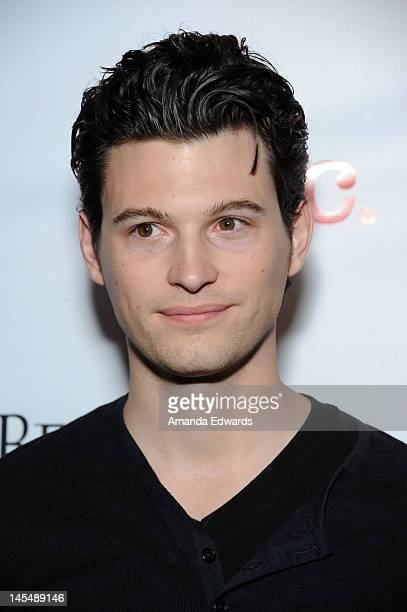 Actor Bryan Dechart arrives at the NYLON Magazine June/July Music Issue Launch Party With Shirley Manson at The Roxy Theatre on May 30 2012 in West...