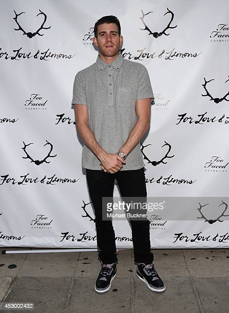 Actor Bryan Greenberg attends For Love and Lemons annual SKIVVIES party cohosted by Too Faced and performance by The Shoe at The Carondelet House on...