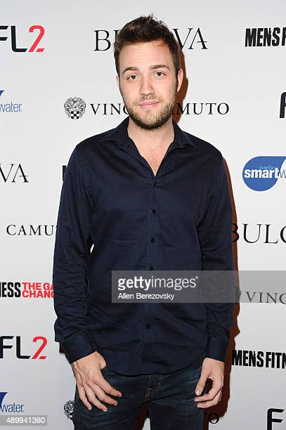 Actor Bryan James attends Men's Fitness Magazine Hosts Annual Game Changers Celebration at Palihouse on September 24 2015 in West Hollywood California
