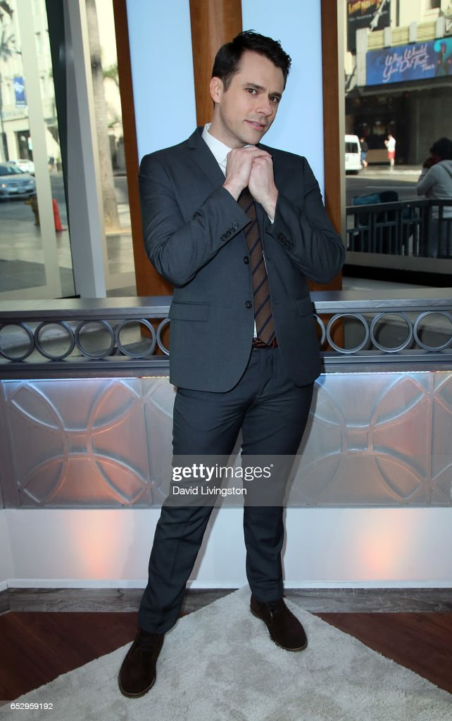 Actor Bryan Safi visits Hollywood Today Live at W Hollywood on March 13, 2017 in Hollywood, California.