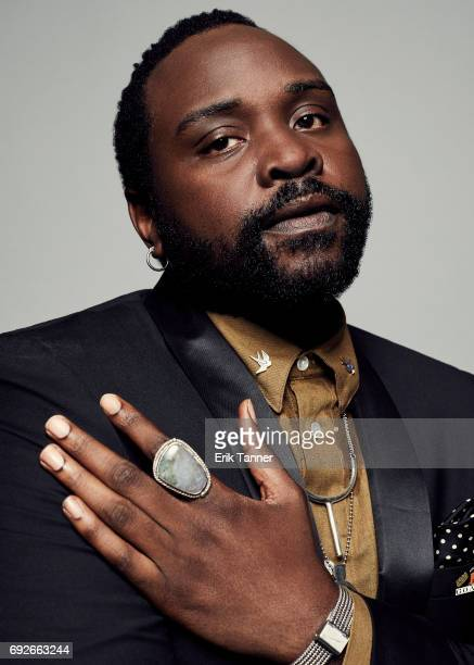 Actor Bryan TyreeHenry is photographed at the 76th Annual Peabody Awards at Cipriani Wall Street on May 20 2017 in New York City