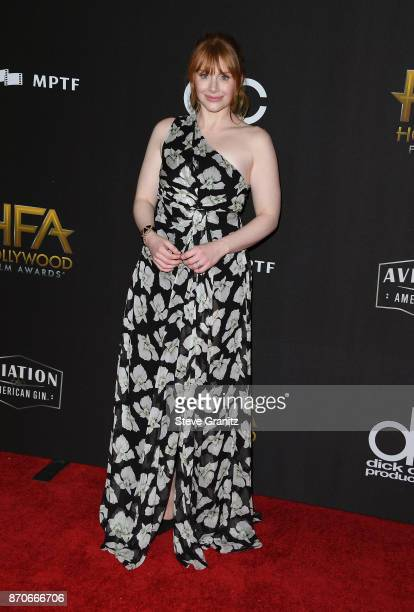 Actor Bryce Dallas Howard attends the 21st Annual Hollywood Film Awards at The Beverly Hilton Hotel on November 5 2017 in Beverly Hills California