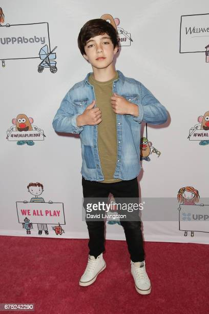 Actor Bryce Gheisar attends the WE ALL PLAY FUNdraiser hosted by the Zimmer Children's Museum at the Zimmer Children's Museum on April 30 2017 in Los...