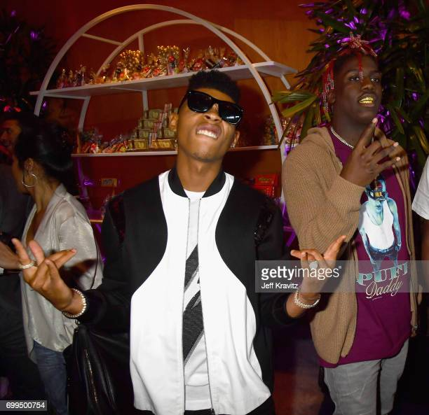 Actor Bryshere Y Gray and rapper Lil Yachty attend the Los Angeles Premiere of Apple Music's CAN'T STOP WON'T STOP A BAD BOY STORY at The WGA Theater...