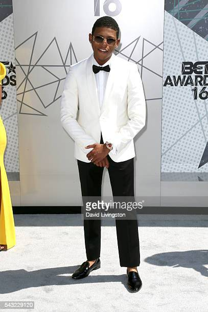 Actor Bryshere Y Gray attends the 2016 BET Awards at Microsoft Theater on June 26 2016 in Los Angeles California