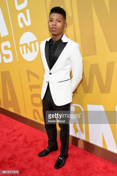 Actor Bryshere Y Gray attends the 2017 NBA Awards Live on TNT on June 26 2017 in New York New York 27111_002