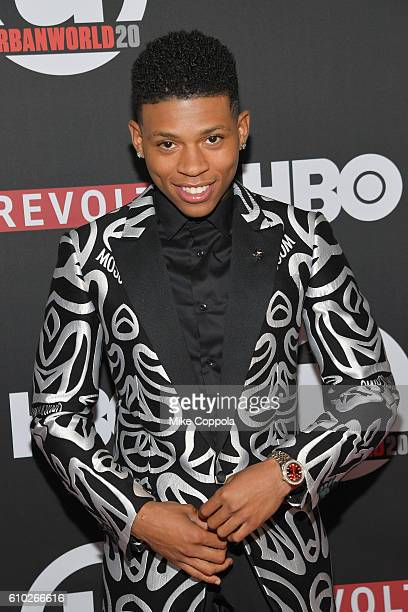Actor Bryshere Y Gray attends the 20th Annual Urbanworld Film Festival The New Edition Story Screening at AMC Empire 25 theater on September 24 2016...