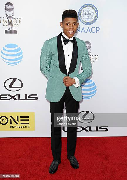 Actor Bryshere Y Gray attends the 47th NAACP Image Awards at Pasadena Civic Auditorium on February 5 2016 in Pasadena California