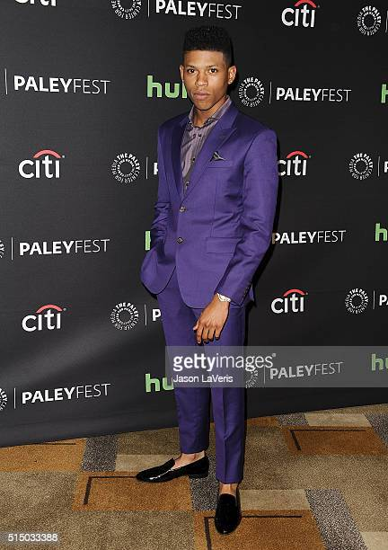Actor Bryshere Y Gray attends the Empire event at the 33rd annual PaleyFest at Dolby Theatre on March 11 2016 in Hollywood California