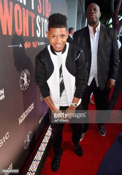 Actor Bryshere Y Gray attends the Los Angeles Premiere of Apple Music's CAN'T STOP WON'T STOP A BAD BOY STORY at The WGA Theater on June 21 2017 in...
