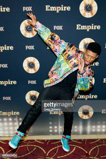 Actor Bryshere Y Gray attends the Spring Premiere Of FOX's 'Empire' at Pacific Theatres at The Grove on March 20 2017 in Los Angeles California