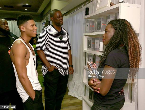 Actor Bryshere Yazshawn Yazz Gray attends the Backstage Creations retreat at Teen Choice 2015 on August 16 2015 in Los Angeles California