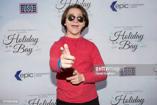 Actor Bryson Robinson attends Holiday By The Bay at Hilton San Diego Bayfront Hotel on November 21 2018 in San Diego California