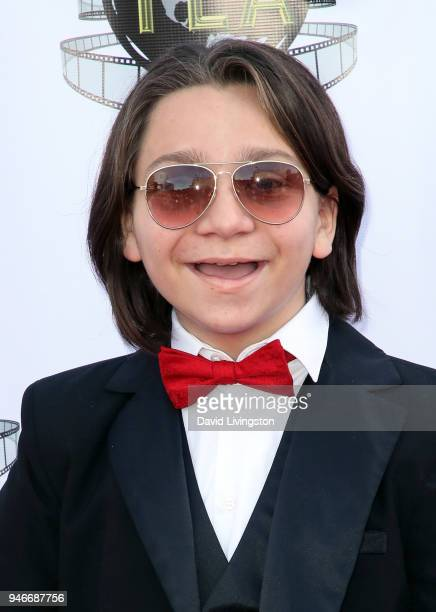Actor Bryson Robinson attends the 3rd Annual Young Entertainer Awards at The Globe Theatre on April 15 2018 in Universal City California