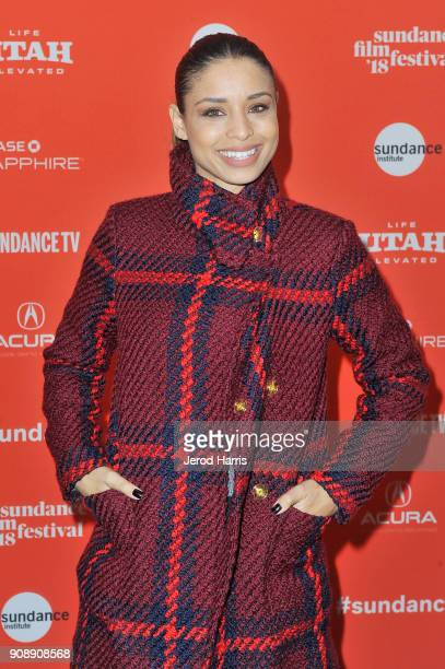 Actor Brytni Sarpy attends the 'A Boy A Girl A Dream' Premiere during the 2018 Sundance Film Festival at Park City Library on January 22 2018 in Park...