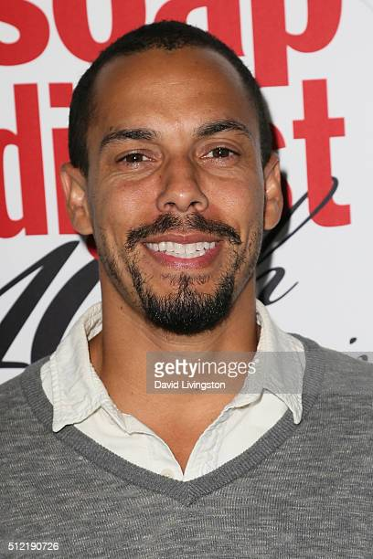 Actor Bryton James arrives at the 40th Anniversary of the Soap Opera Digest at The Argyle on February 24 2016 in Hollywood California