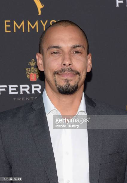 Actor Bryton James attends the Television Academy's Daytime Programming Peer Group Reception at Saban Media Center on August 22 2018 in North...