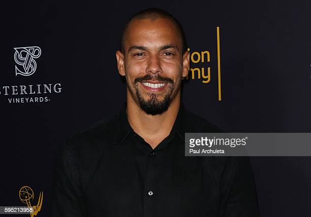 Actor Bryton James attends the Television Academy's daytime television celebration at The Saban Media Center on August 24 2016 in North Hollywood...